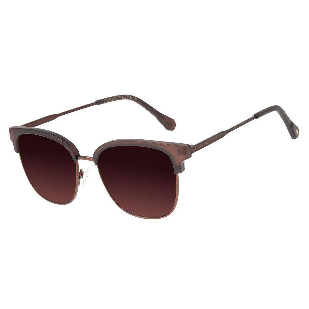 Óculos de Sol Unissex Loucuras da Nobreza Conde Drácula Jazz Marrom OC.CL.3152-5702