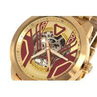 Relógio Automático Masculino Marvel Homem de Ferro Dourado RE.MT.1149-1621.5