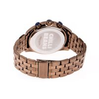 Relógio Analógico Masculino Chilli Beans 30 Meters Water Resistant Bege RE.MT.1138-2323.2