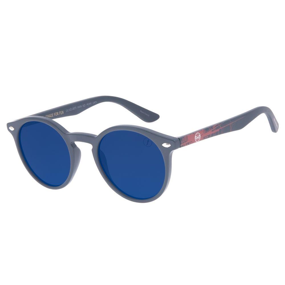 Óculos de Sol Infantil Marvel Homem Aranha Azul OC.KD.0673-0808