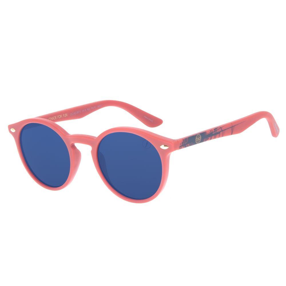 Óculos de Sol Infantil Marvel Homem Aranha Vermelho OC.KD.0673-0816