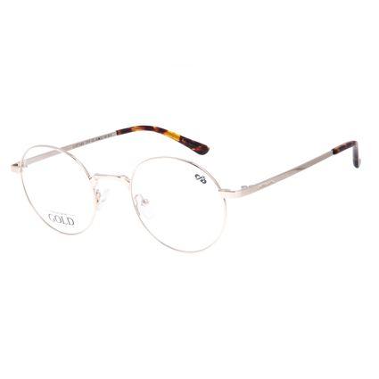 Armação Para óculos de Grau Feminino Chilli Beans Banhado a Ouro Prata LV.MT.0465-0707