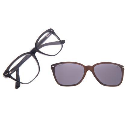 Armação Para Óculos de Grau Feminino Chilli Beans Multi Cat Preto Polarizado LV.MU.0473-0501