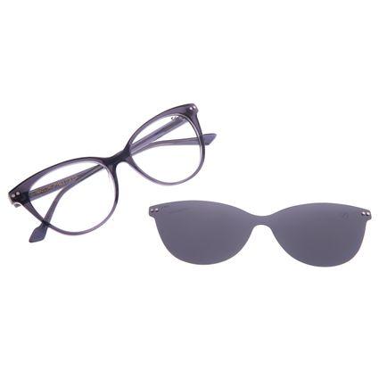 Armação Para Óculos de Grau Feminino Chilli Beans Multi Polarizado Preto LV.MU.0517-0101