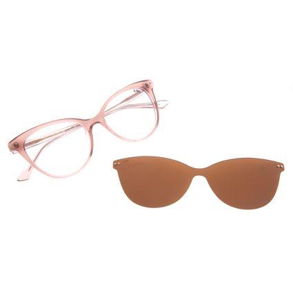 Armação Para Óculos de Grau Feminino Chilli Beans Multi Polarizado Rosé LV.MU.0517-0295