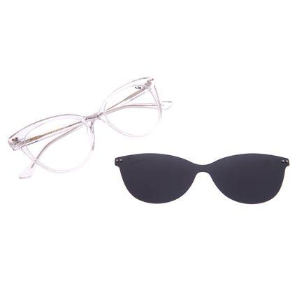 Armação Para Óculos de Grau Feminino Chilli Beans Multi Polarizado Transparente LV.MU.0517-0136