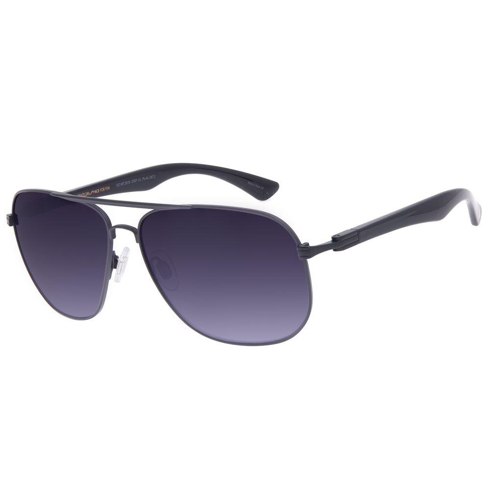 Óculos de Sol Masculino Chilli Beans Executivo Metal Degradê OC.MT.3010-2001