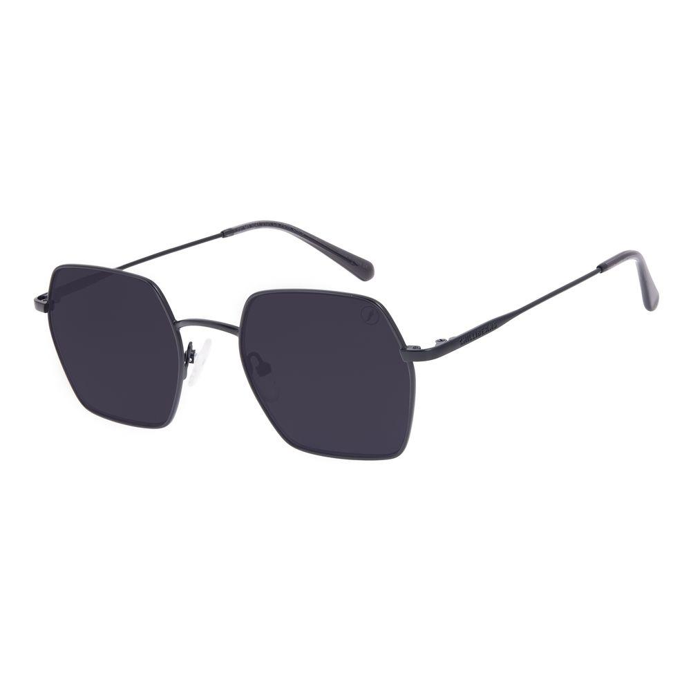 Óculos de Sol Feminino Chilli Beans Quadrado Metal Preto OC.MT.3041-0101