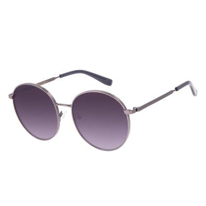 Óculos de Sol Feminino Chilli Beans Redondo Ônix OC.MT.2956-2022