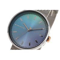 Relógio Analógico Feminino Color Match Sea Prata RE.MT.1168-0807.5