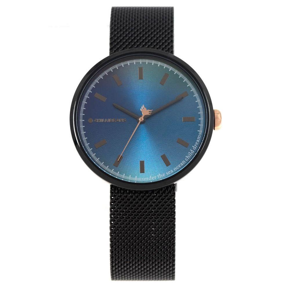 Relógio Analógico Feminino Color Match Sea Preto RE.MT.1168-0801