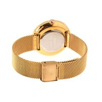 Relógio Analógico Feminino Color Match Sea Dourado RE.MT.1168-9521.2