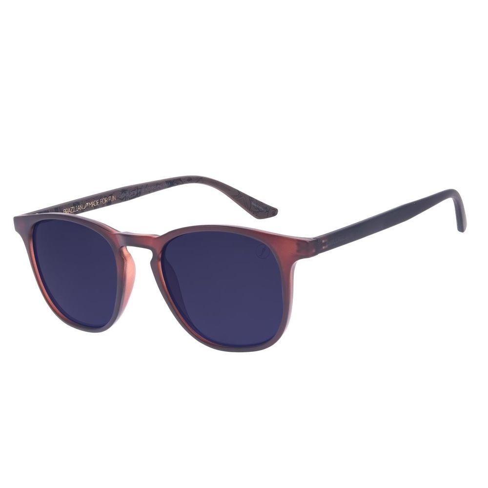Óculos de Sol Infantil Marvel Bossa Nova Marrom OC.KD.0676-0102