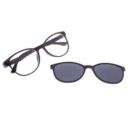 Armação Para Óculos de Grau Feminino Chilli Beans Multi Polarizado Preto LV.MU.0030-0401