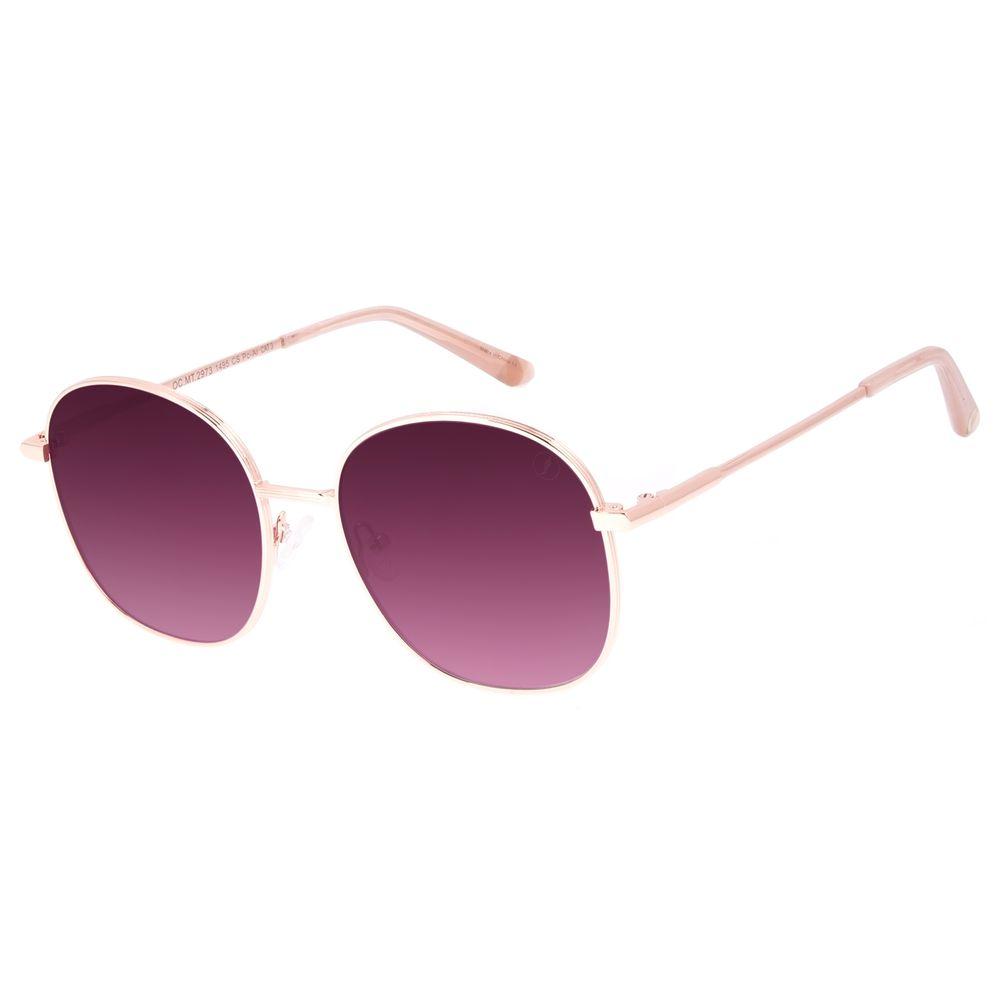 Óculos de Sol Feminino Chilli Beans Banhado a Ouro Roxo OC.MT.2973-1495