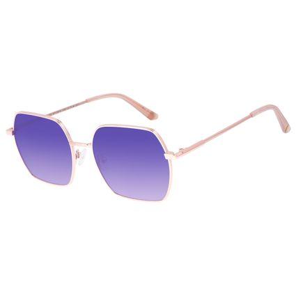 Óculos de Sol Feminino Chilli Beans Banhado a Ouro Roxo OC.MT.2974-1495