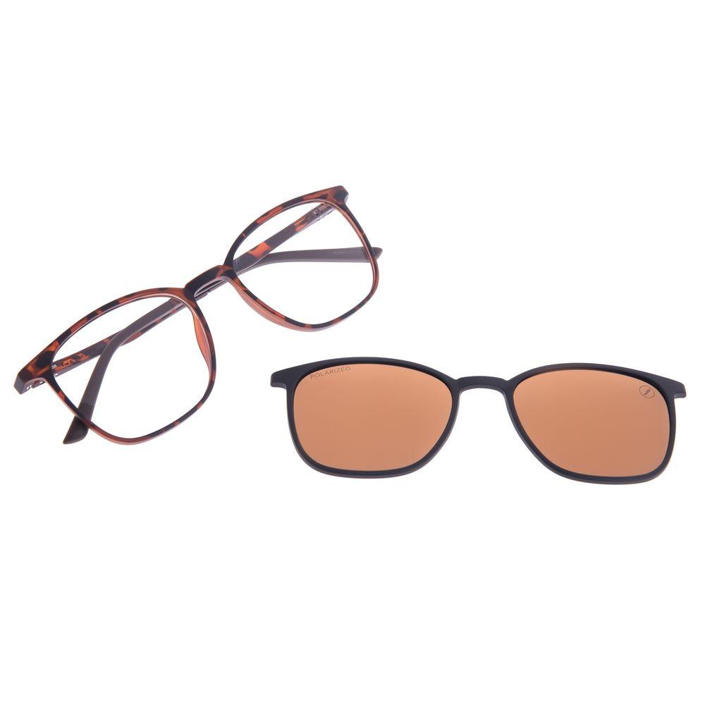 Armação Para Óculos de Grau Unissex Chilli Beans Multi Polarizado Tartaruga LV.MU.0512-0206