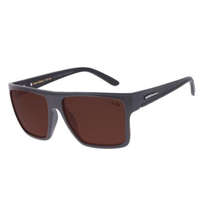 Óculos de Sol Unissex Chilli Beans Essential Quadrado Marrom Claro OC.CL.1058-8831
