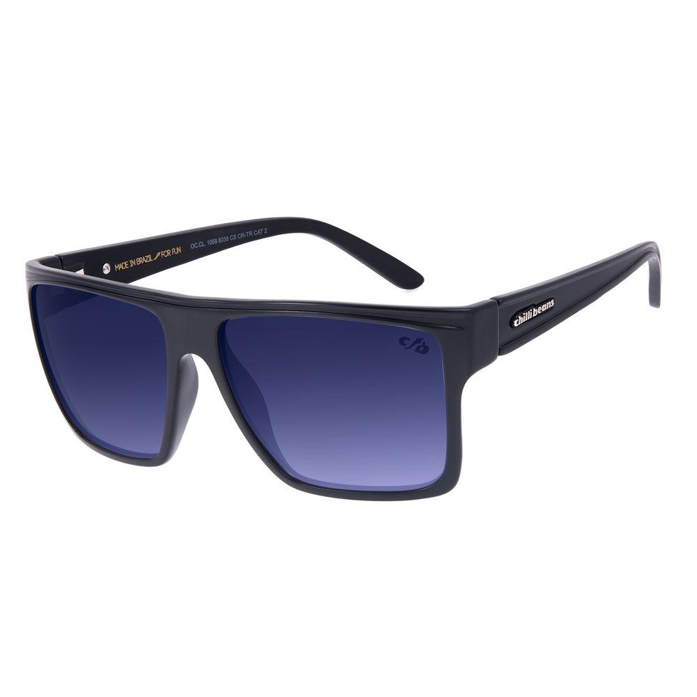 Óculos de Sol Unissex Chilli Beans Essential Quadrado Escuro OC.CL.1058-8038