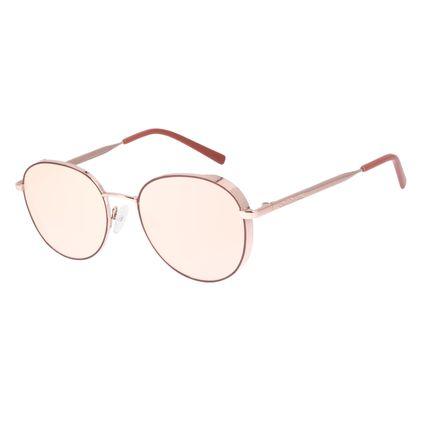 Óculos de Sol Feminino Chilli Beans Redondo Flap Rosé OC.MT.3002-2395