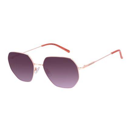Óculos de Sol Unissex Chilli Beans Quadrado Metal Rosé OC.MT.3003-5795