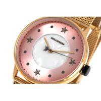 Relógio Analógico Feminino Mar.É Perolado Dourado RE.MT.1166-1321.5