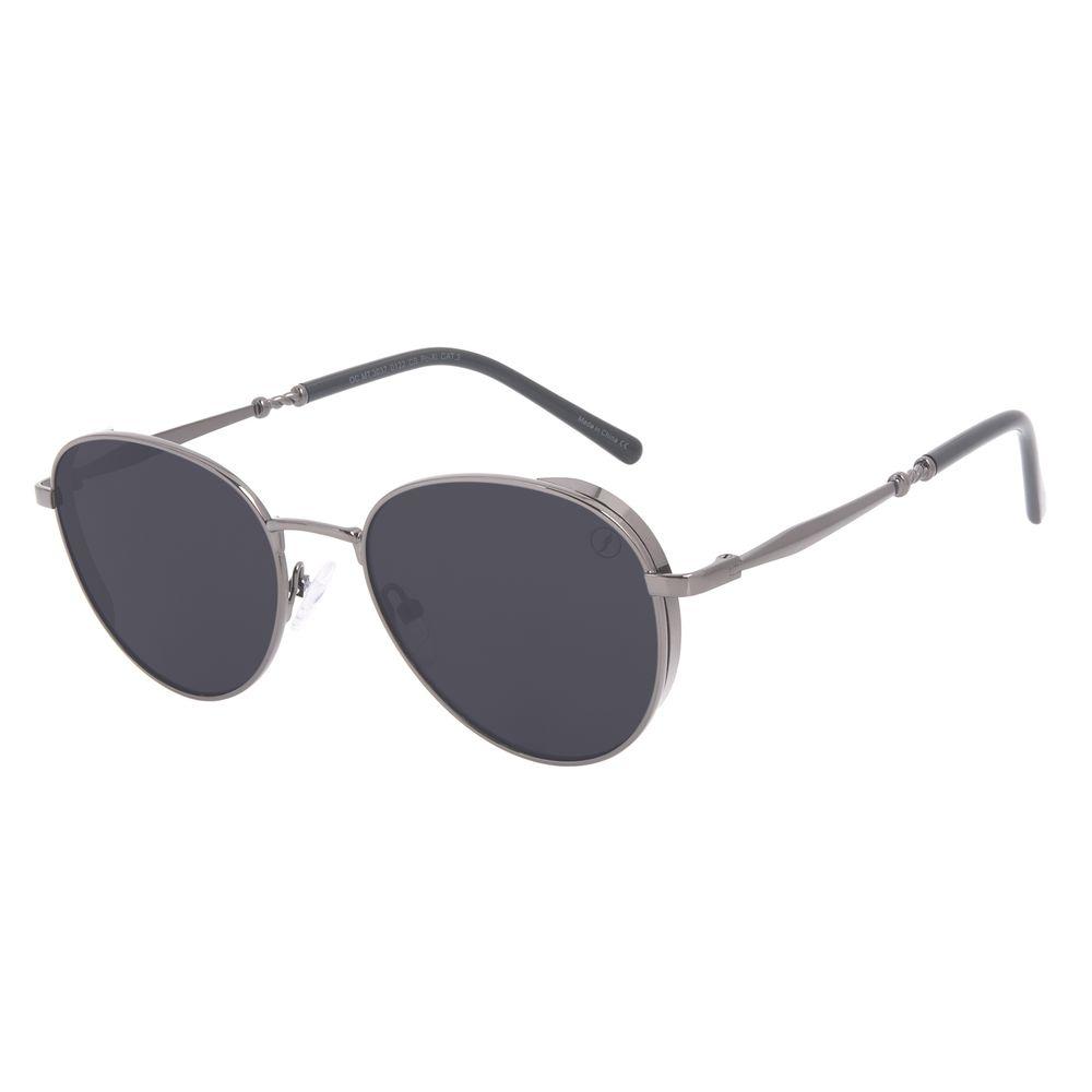 Óculos de Sol Feminino A.H Circus Redondo Twist Ônix OC.MT.3037-0122