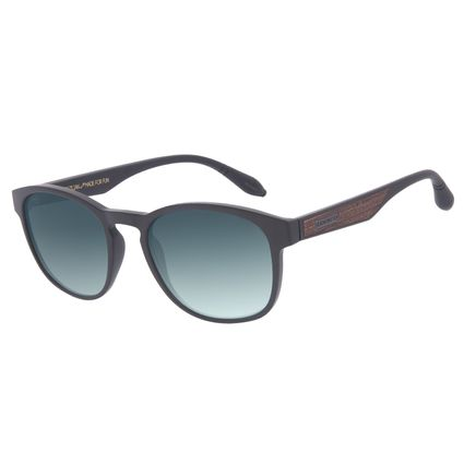 Óculos de Sol Masculino A.H Circus Bossa Nova Degradê Verde OC.CL.3213-8202