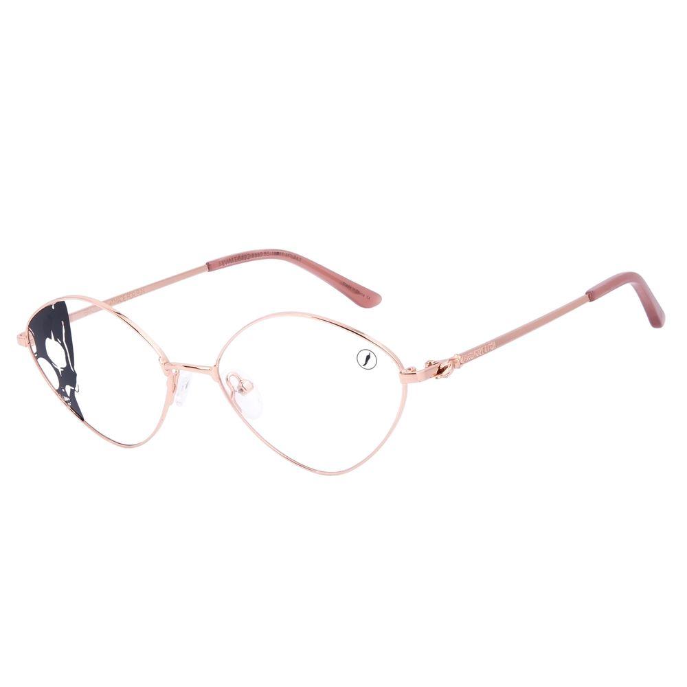 Armação Para Óculos de Grau Feminino A.H Circus Circense Redondo Rosé LV.MT.0492-9595