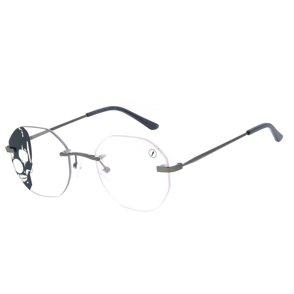 Armação Para Óculos de Grau A.H Circus 3 Peças Ônix LV.MT.0490-2222