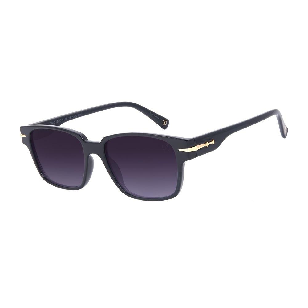 Óculos de Sol Unissex A.H Circus Bossa Nova Preto OC.CL.3215-0101
