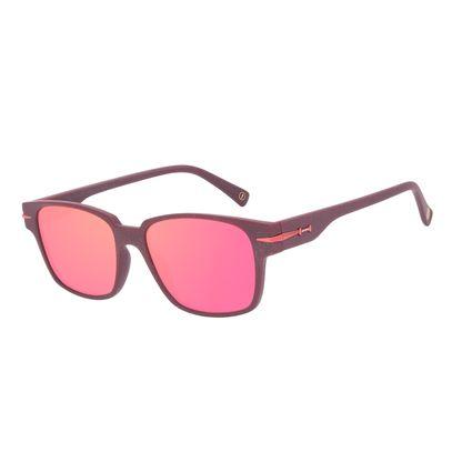 Óculos de Sol Unissex A.H Circus Bossa Nova Vermelho OC.CL.3215-1616