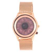 Relógio Digital Masculino A.H Circus Illusory Fashion Rosé RE.MT.1172-9595