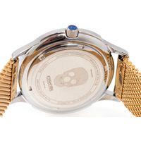 Relógio Analógico Feminino A.H Circus Ilusionista Dourado RE.MT.1180-2121.6