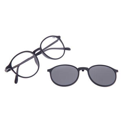 Armação Para Óculos de Grau Unissex Chilli Beans Multi Polarizado Preto LV.MU.0342-0101