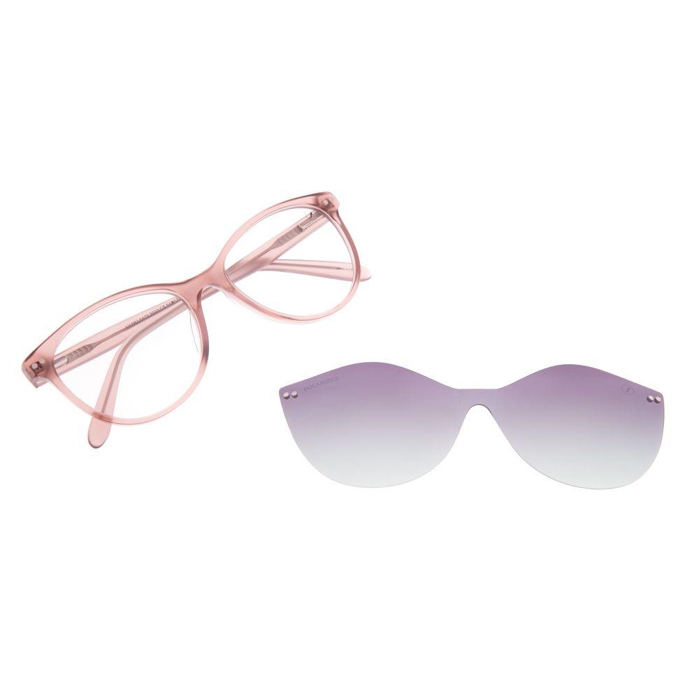 Armação Para Óculos De Grau Feminino Chilli Beans Multi Bege Polarizado LV.MU.0472-2023