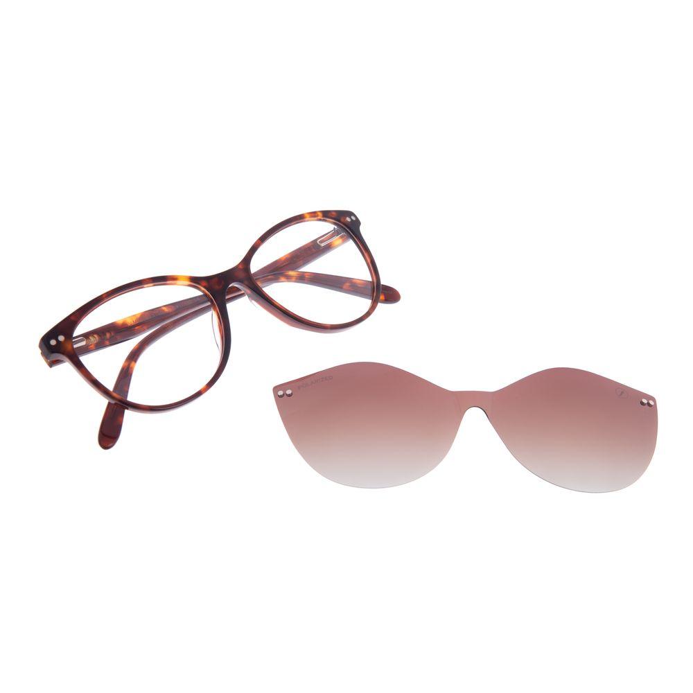 Armação Para Óculos De Grau Feminino Chilli Beans Multi Tartaruga Polarizado LV.MU.0472-5706