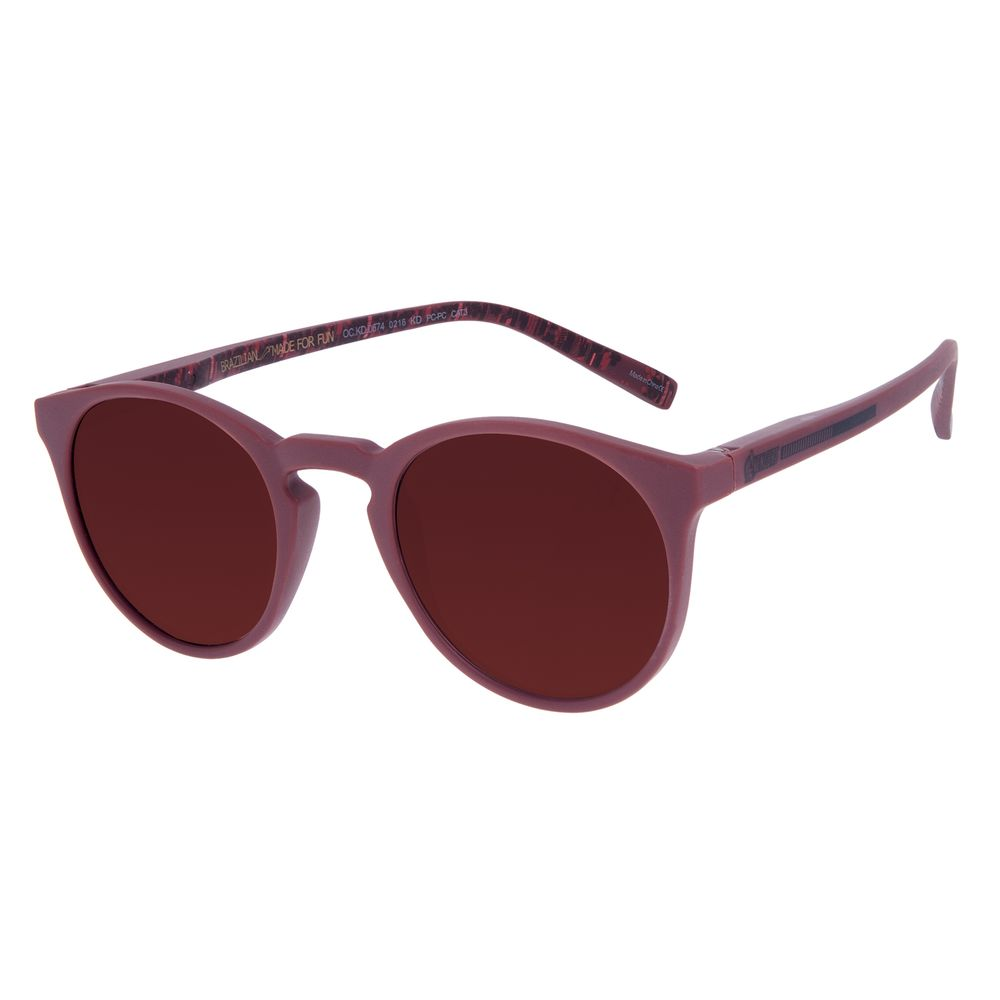 Óculos de Sol Infantil Marvel Avengers Assemble Vermelho OC.KD.0674-0216