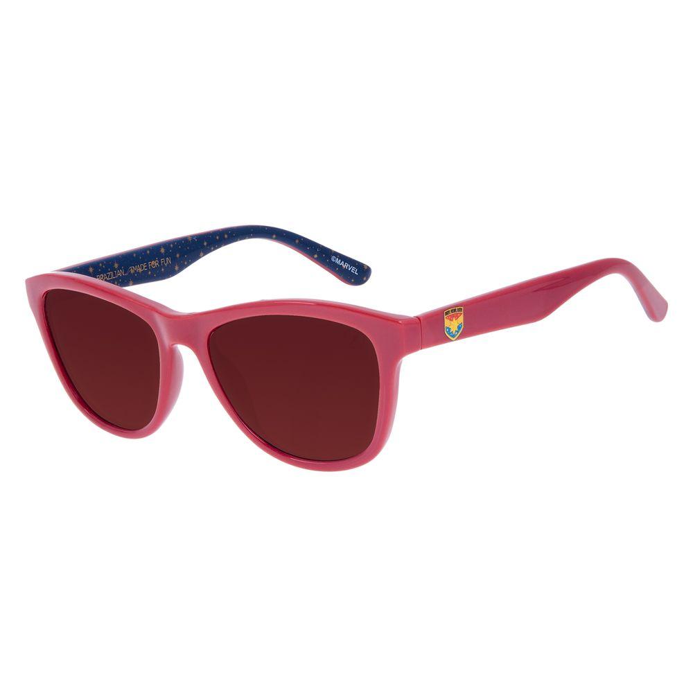 Óculos de Sol Infantil Marvel Capitã Marvel Vermelho OC.KD.0677-0216