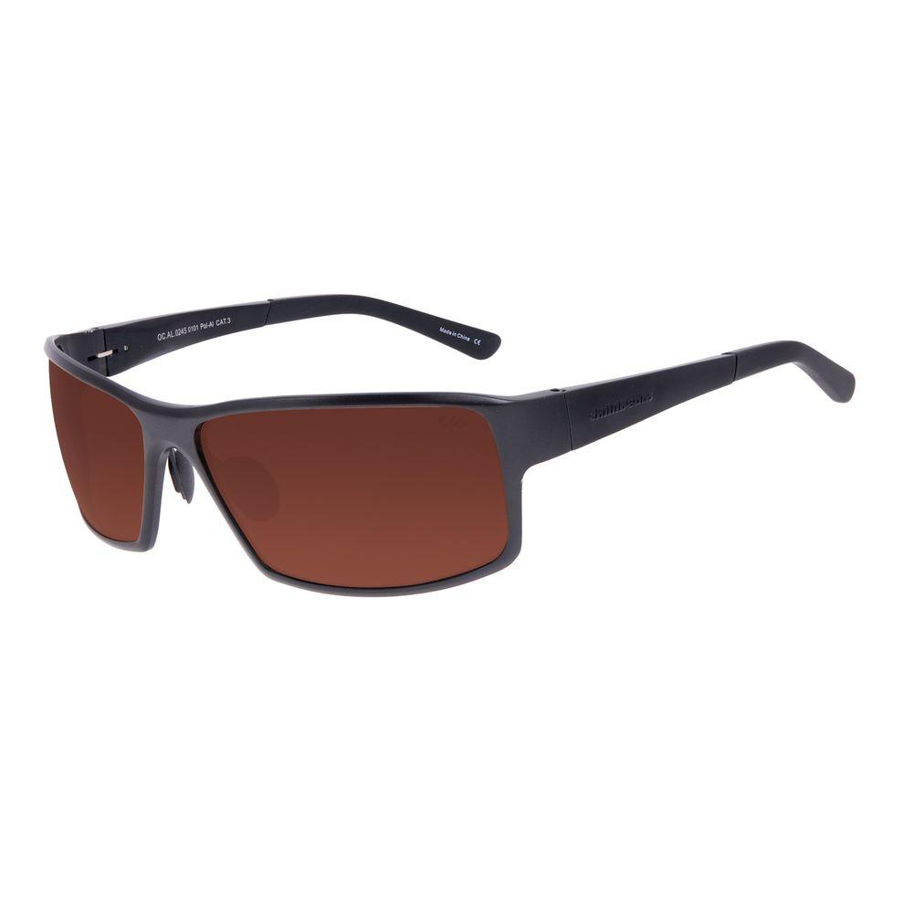 Óculos de Sol Masculino Chilli Beans Sport Polarizado Preto OC.AL.0245-0101