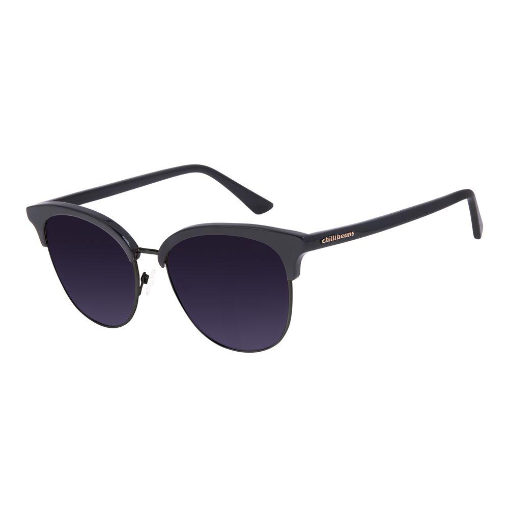 Óculos de Sol Feminino Chilli Beans Classic Trend Preto OC.CL.3053-2001