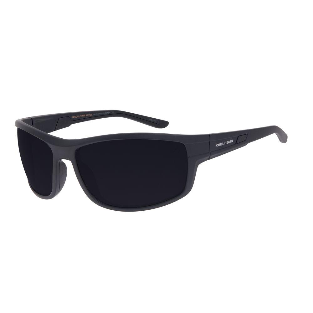 Óculos de Sol Masculino Chilli Beans Performance Preto Polarizado OC.ES.1255-0101