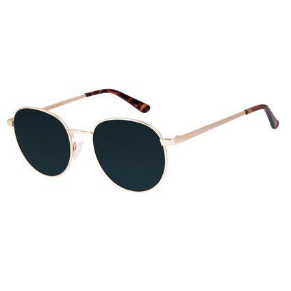Óculos de Sol Unissex Chilli Beans Essential Metal Dourado OC.MT.2825-1521