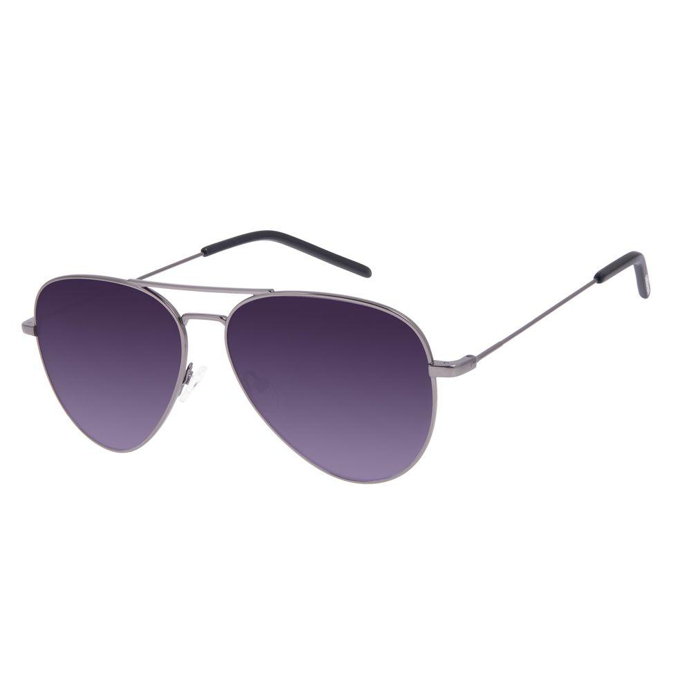 Óculos de Sol Unissex Chilli Beans Aviador Ônix OC.MT.3018-0122