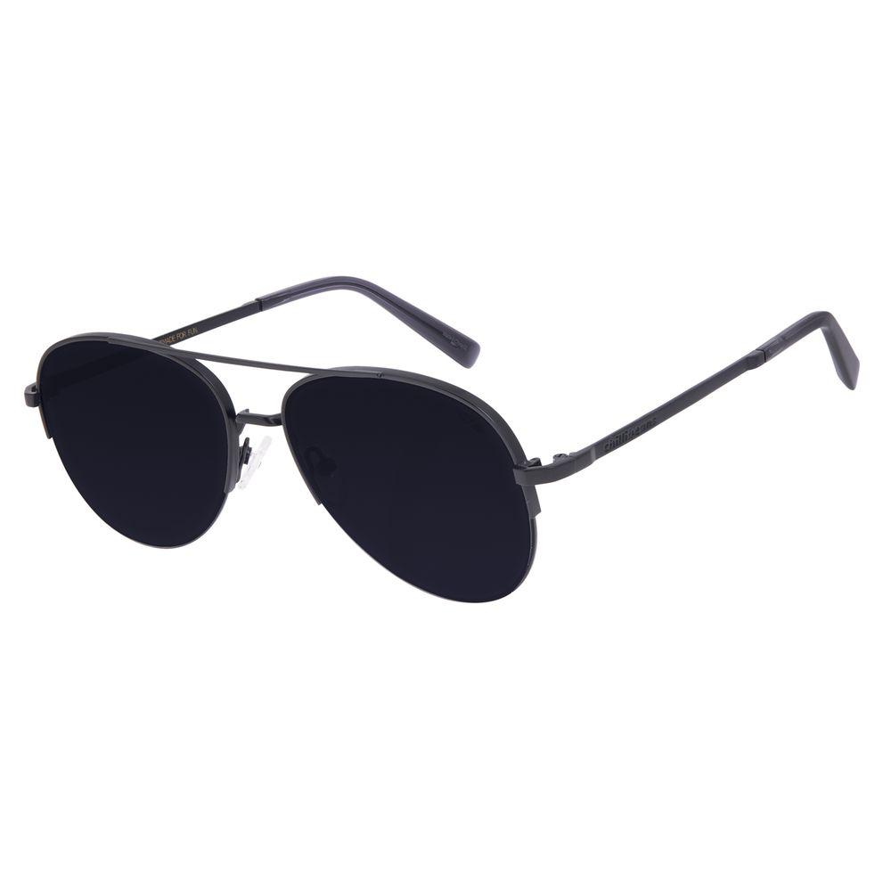 Óculos de Sol Unissex Chilli Beans Aviador Preto OC.MT.3017-0101