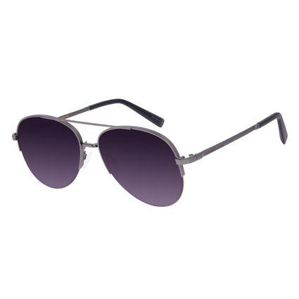 Óculos de Sol Unissex Chilli Beans Aviador Ônix OC.MT.3017-0122