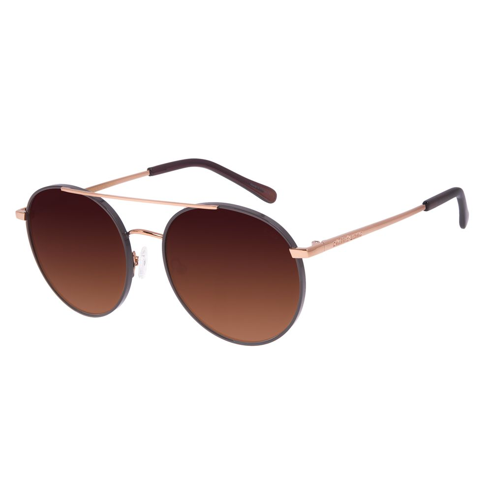 Óculos de Sol Feminino Chilli Beans Redondo Marrom OC.MT.2955-5702