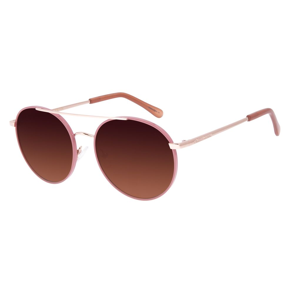 Óculos de Sol Feminino Chilli Beans Redondo Rosé OC.MT.2955-5795