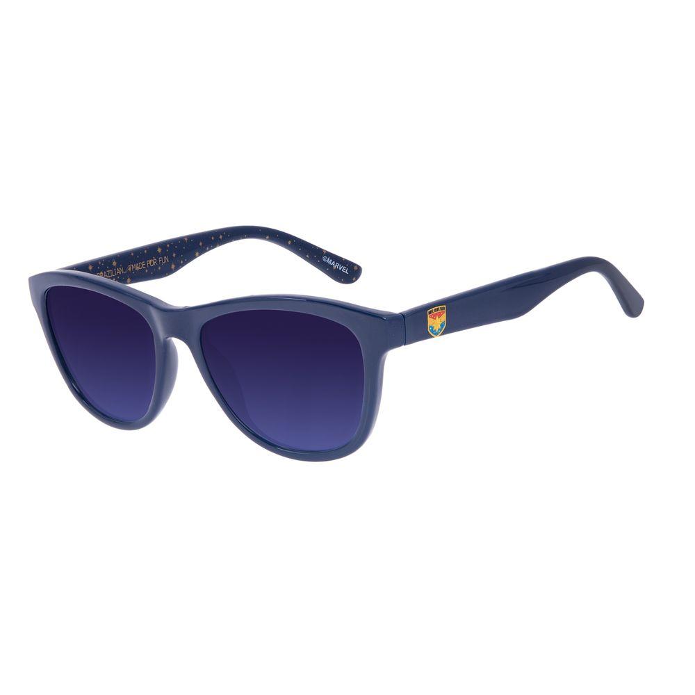 Óculos de Sol Infantil Marvel Capitã Marvel Azul OC.KD.0677-8308