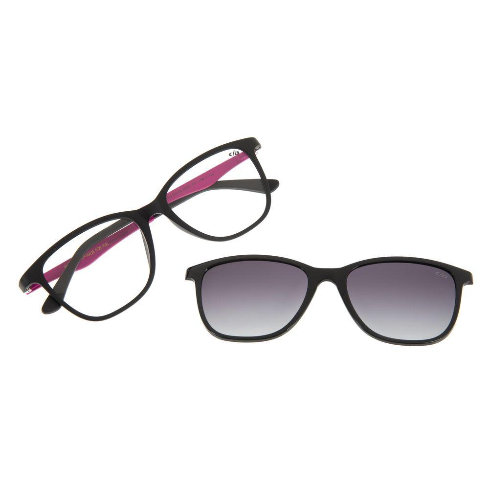 Armação Para Óculos de Grau Feminino Chilli Beans Multi Basic Fosco Polarizado LV.MU.0050-2031